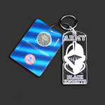 Full Face Army Black Knight Key Chain