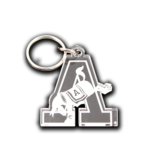 "West Point Kicking ""A"" Mule Key Chain Gift"