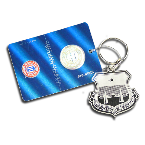 Air Force Academy Shield Key Chain Gift