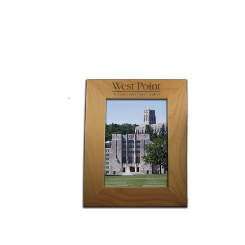 West Point Red Alder 4x6 photo frame gift