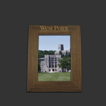 5x7 Walnut West Point Picture Frame