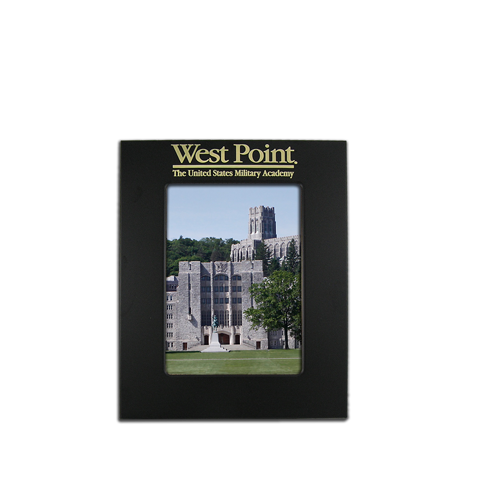 West Point 4x6 Black Metal Picture Frame