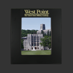 8x10 Black over Brass West Point Picture Frame