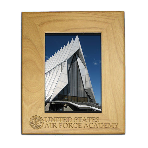 Air Force Academy 8x10 engraved picture frame gift