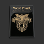 8x10 Gloss Black West Point Award Plaque
