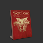 5x7 Free-standing Rosewood West Point Award Plaque