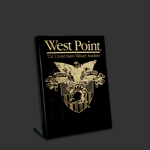 5x7 Free-standing black West Point Award Plaque