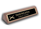 Desk Nameplate Sample