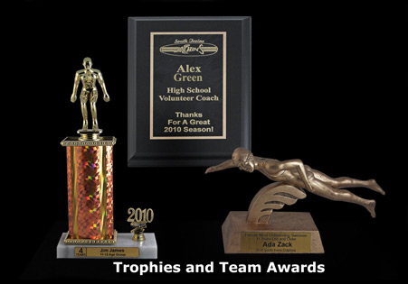 Link to Trophies and team awards